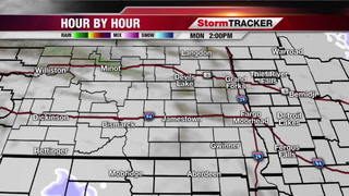Cloudy But Mild Today, Light Snow Arriving Overnight