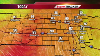 Saturday StormTRACKER Forecast