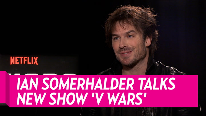 Why Ian Somerhalder Was Drawn to 'V Wars' Character: His 'Superpower' Is 'Being a Good Dad'
