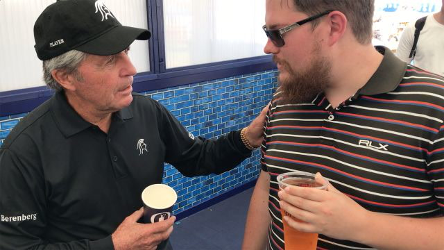Gary Player scolds British Open fans