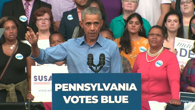 'This time, the stakes really are higher': Obama urges voters to head to the polls