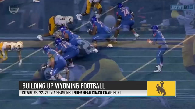 Craig Bohl Discusses His Accomplishments at Wyoming and Josh Allen