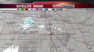 Tracking Sunday Flurries