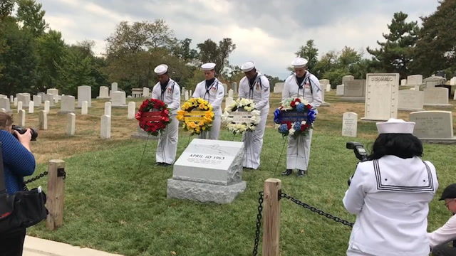 56 years after tragedy, relatives remember USS Thresher sailors