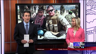 This Memorial Day we take a look at how one Marine is honoring two fallen fellow soldiers