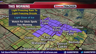 Tracking Icy Roads This Morning
