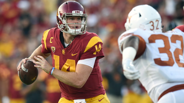 USC QB Sam Darnold: 'It was such a great game, it was awesome to be a part of'