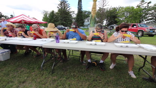 Backus Corn Eating Contest 2016