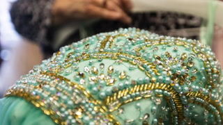 Some of the prom accessories available at Kristen's Bridal in Grand Forks. Owner Nancy Zalewski said prom shopping season starts getting busy in February. (Jesse Trelstad/Grand Forks Herald)