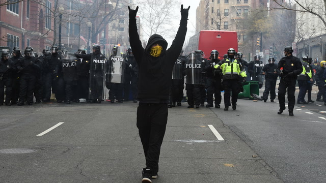 Trials set to begin for Inauguration Day riots in downtown D.C.