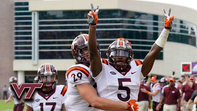 Cam Phillips: Virginia Tech Reception Record vs. East Carolina