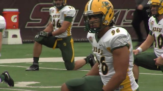 Bison Video Blog - Can't Afford To Lose Player: #5 Greg Menard
