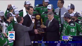 NCHC awards UND's Brian Faison with Distinguished Service Award