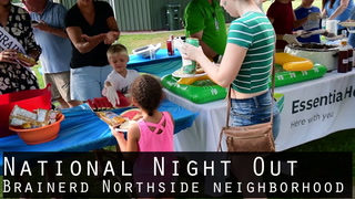 National Night Out Brainerd Northside Neighborhood