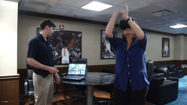 Introducing your Washington Wizards — in VR