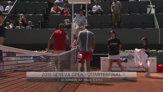 Semifinal Set at the Geneva Open