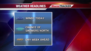 StormTRACKER Sunday Weather Update