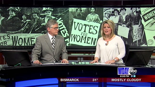 Womens right to vote in ND signed 100 years ago today