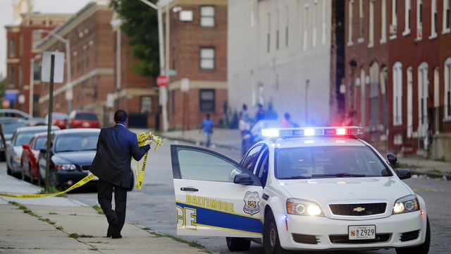A year of near-record murders in Baltimore
