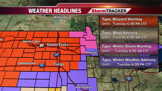 StormTRACKER Forecast: Latest Winter Storm Update
