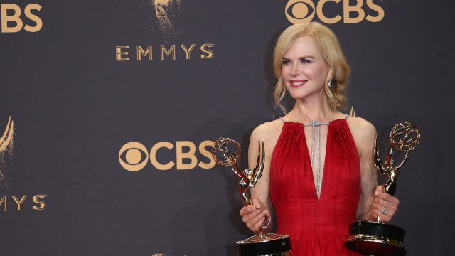 How The 2017 Emmys Became the Nicole Kidman Circus