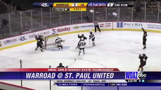 Minnesota girls hockey state tournament: Warroad falls