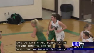 Minnesota girls basketball: Roseau defeats EGF