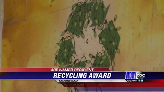 Moorhead Ace Hardware receives award for commitment to recycling