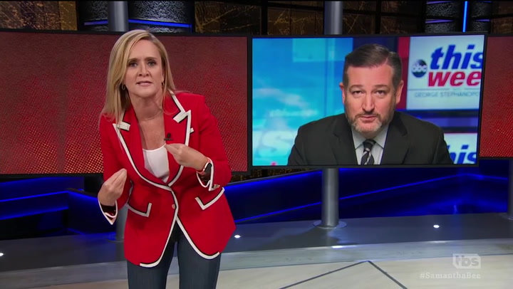Samantha Bee Lays Into Ted Cruz for Defending Brett Kavanaugh: 'Shut the Fuck Up, Bitch!'