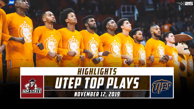 UTEP Basketball Top Plays vs. New Mexico State (2019-20)