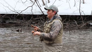 Steelhead fishing opener on Wisconsin's Brule River