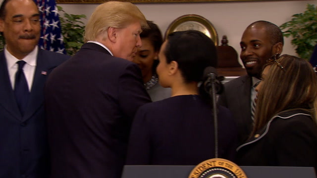 Trump ignores question, 'Are you a racist?'