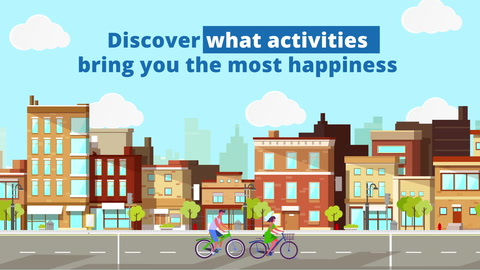Activities that make you happy