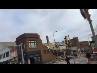 Video of collapsed Sioux Falls building