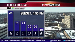 Tracking A Mild Wednesday