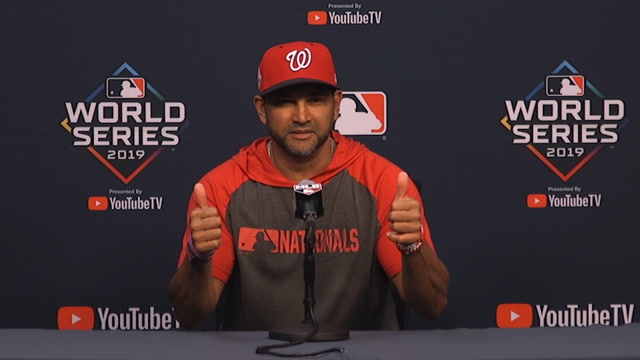 'He's good': Nationals manager says Max Scherzer will start Game 7 if needed