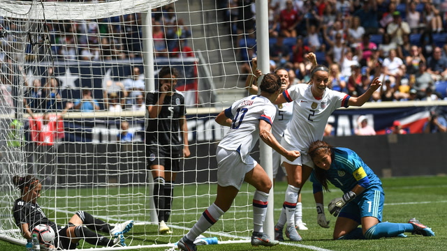 'It's not just about us': USWNT fight for gender equality