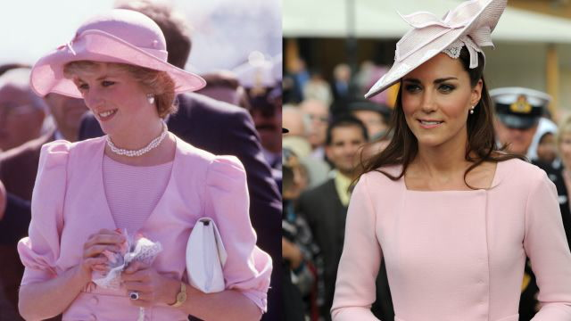 Princess Diana and Kate Middleton's Style Similarities