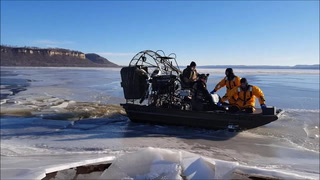 Lake Pepin Ice Rescue - Jan. 4, 2019