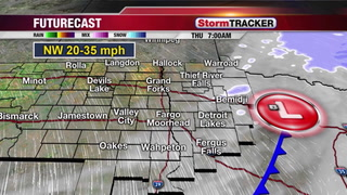 Wind, Blowing Snow, and Cold for Valentine's Day