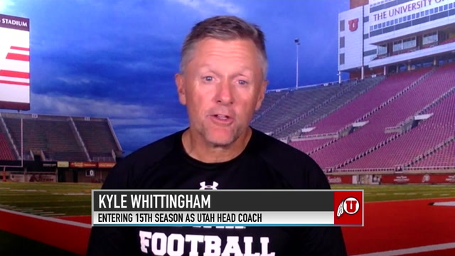 Utah Head Football Coach Kyle Whittingham Discusses Expectations for His Team in 2019