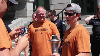 Duluth officers carry the torch for Special Olympics