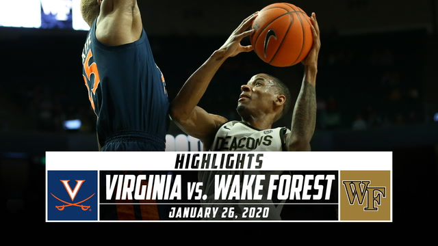 Virginia vs. Wake Forest Basketball Highlights (2019-20)