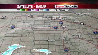 Tracking Snow this Afternoon