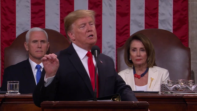 Trump condemns Maduro during State of the Union speech