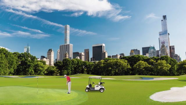 A bold vision to bring golf to Central Park