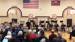 WMS combined jazz bands