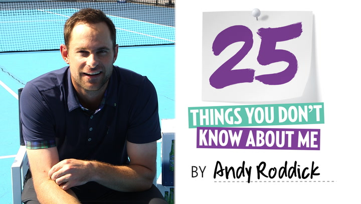Andy Roddick: 25 Things You Don't Know About Me ('I'm That Guy on an Airplane Who Cries During a Movie')